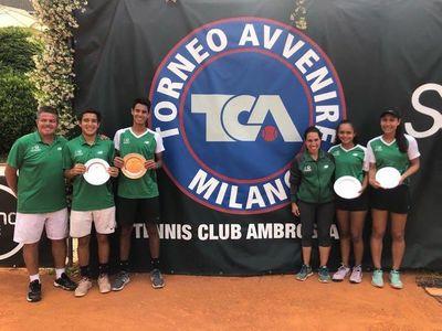 Vallejo, Brítez y Martinessi, los mejores en Milán