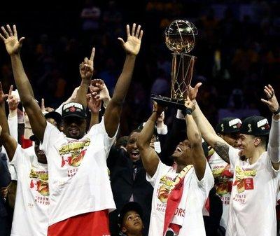 Los Raptors hacen historia en la NBA