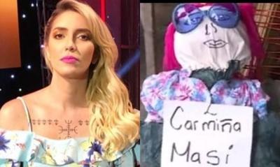 """A Carmiña Masi no le molesta ser """"Judas Kai"""""""