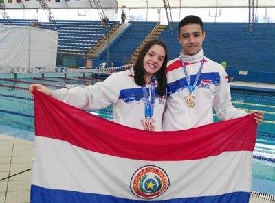 Maximiliano y Astrid cierran la Copa Pacífico con oro y  plata