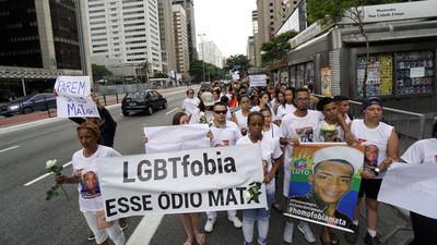 Homofobia será delito penal en Brasil