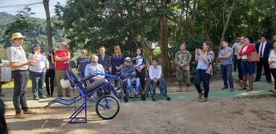 Independencia inaugura espacios turísticos inclusivos en serranías de Ybyturuzu