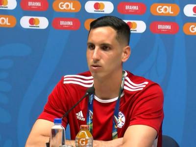 Júnior Fernández quiere hacer historia con la selección