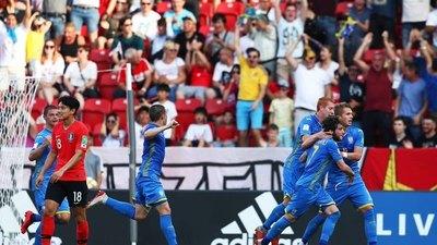 Ucrania ganó a Corea del Sur y es campeón del mundo Sub-20