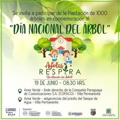 Día del árbol se conmemorará con cultivo de 1.000 plantines en Ayolas