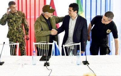Sergio Moro destacó operativo antidrogas de la Senad