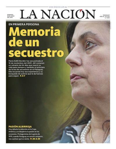 Edición impresa, 16 de junio de 2019