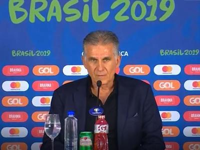 Carlos Queiroz valora la actitud de sus jugadores