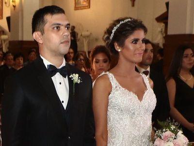 El casamiento de Pamela y Óscar
