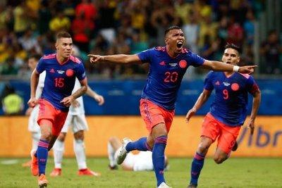 Colombia vence a Argentina y es líder del Grupo B
