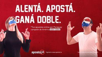 Apuesta online por Paraguay vale el doble con Apostala