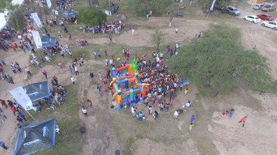 Jornada deportiva y solidaria en Puerto Falcón