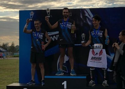 Pelozo y Guzmán; los más rudos del Ultra Maratón