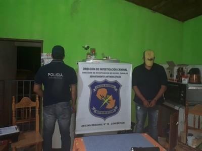 Detienen a brasileño e incautan crack en Yby Yaú