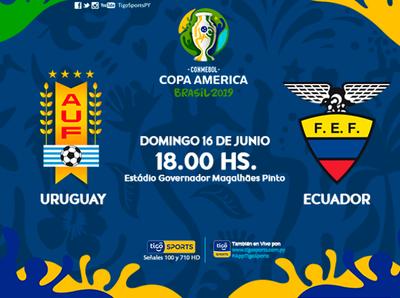 Uruguay y Ecuador abren el Grupo C