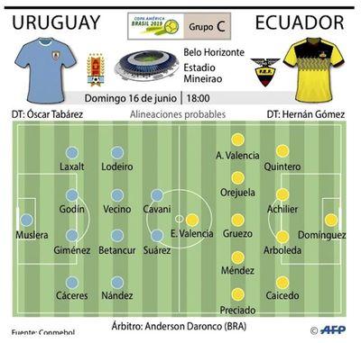 Uruguay va por su 16º trofeo