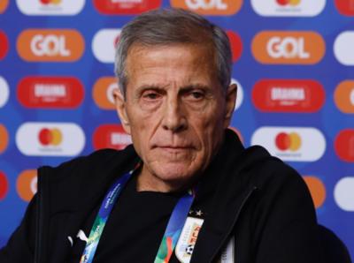 El Maestro Tabárez analiza el triunfo de Uruguay