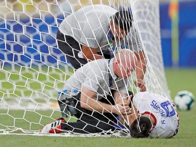 Berizzo confirmó la lesión de Rodrigo Rojas