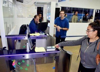 Control biométrico en paso fronterizo