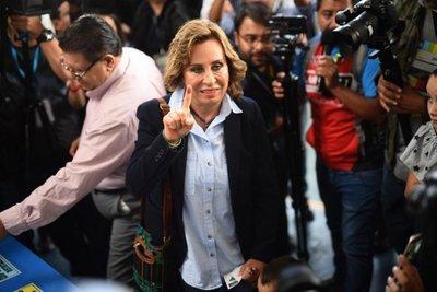Ex Primera dama se perfila como la ganadora de las elecciones en Guatemala