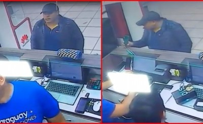 Peruano denunciado por robo en tienda del centro