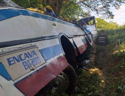 Al menos 18 muertos en accidente de bus en el oeste de Venezuela
