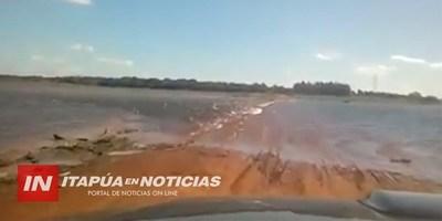 """MÁS DE U$D 1 MILLÓN INVERTIDOS EN ANDAI CUE PASO """"QUEDARON BAJO AGUA"""".."""