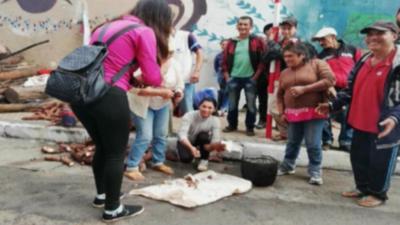 HOY / Campesinos regresan a la capital y reclaman que se cumplan acuerdos