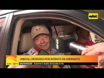 Jaeggli detenido por intento de asesinato