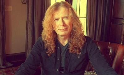 Dave Mustaine, líder de Megadeth, tiene cáncer de garganta