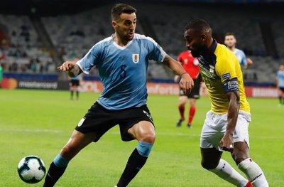 Matías Vecino le dice adiós a la Copa América