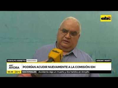 Caso Arrom y Martí: Podrían acudir nuevamente ante la CIDH