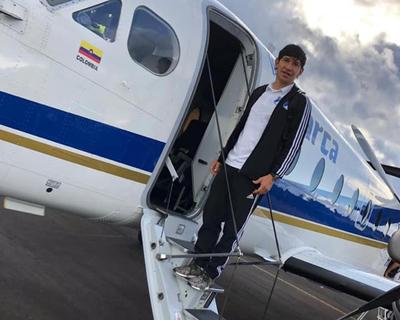 Roberto Ovelar ya emprendió viaje para sumarse a Olimpia
