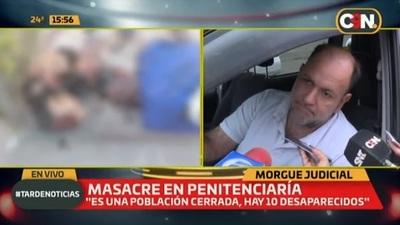 Masacre en cárcel: Identifican restos y detallan causa de muerte de cada uno
