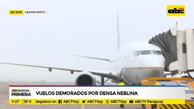 Neblina interfiere en aterrizaje y despegue de al menos cuatro vuelos
