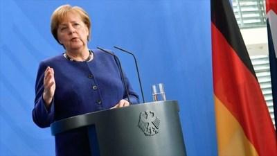 Merkel pide una resolución «pacífica» del conflicto entre EEUU e Irán