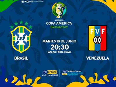 Brasil busca el triunfo que lo meta en cuartos