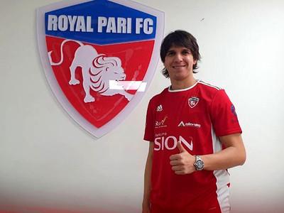 Pablo Zeballos es nuevo jugador del Royal Pari