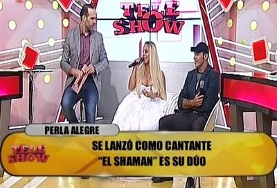 Perla Alegra reveló que siempre quiso ser cantante
