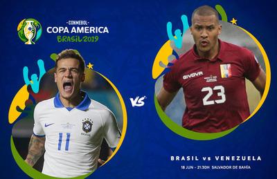 Copa América: Brasil buscará la clasificación y Venezuela su primer triunfo