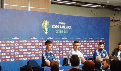 Scaloni no confirmó el equipo argentino