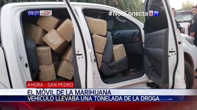 Decomisan una tonelada de marihuana en Canindeyú