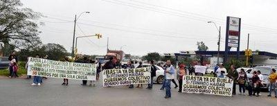 En Ypané denuncian pésimo servicio de empresa de transporte público