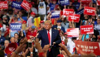 Trump por la reelección 2020: «Seguiremos haciendo grande EE.UU. de nuevo»