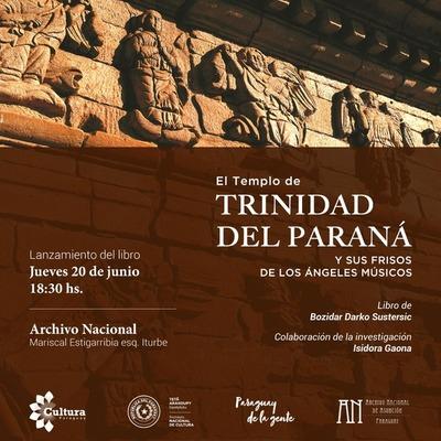 Lanzan libro sobre la historia de construcción del templo de Trinidad