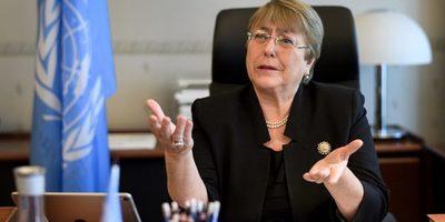 Bachelet comienza visita a Venezuela en medio de crecientes denuncias sobre violaciones a DDHH