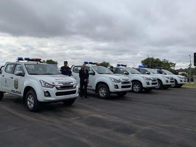 Policía Nacional recibió nuevas patrulleras equipadas para combatir inseguridad