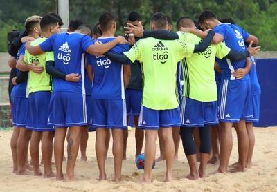 Los Pynandi activan con miras al Mundial de Fútbol Playa