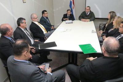Ministros de la Corte visitan San Pedro