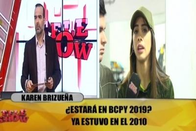 Karen Brizueña se refirió a su supuesta visita a Tacumbú
